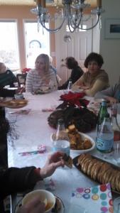 Soup's On Ann Elaine & table