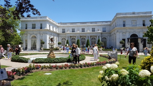 Rosecliff Exterior with unknown people