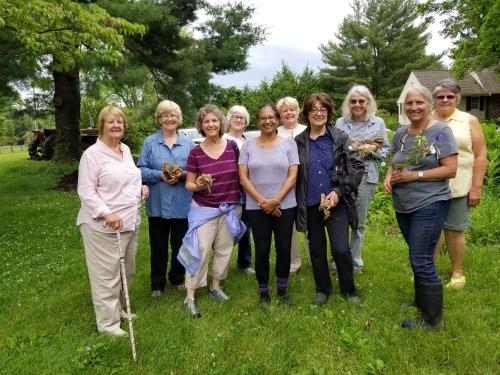 Joy Macy's Bluefield group photo