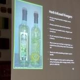 herb infused vinegar power point slide